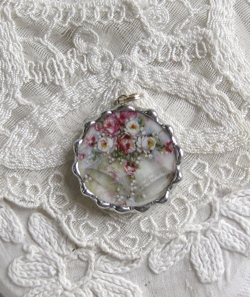 Vintage China Charm Wedding Bells
